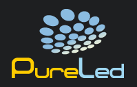 pureled taśmy led logo